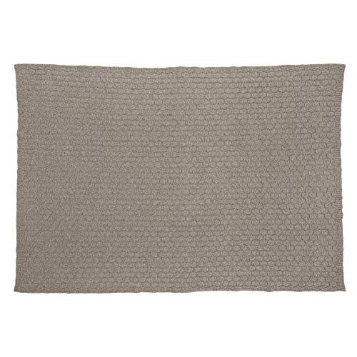 GIESSWEIN Decke Haiming - Decke aus Lammwolle, Warme Decke, Hochwertige Tagesdecke, Kuschelig Weich, 100% Lammwolle, Wolldecke aus Reiner Schurwolle, atmungsaktive Schurwolldecke, 190 x 145 cm