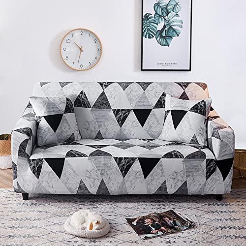 MKQB Funda de sofá de combinación de Esquina de Sala de Estar de decoración Moderna del hogar, Funda de sofá de Muebles Antideslizante telescópica elástica NO.13 L (190-230cm)