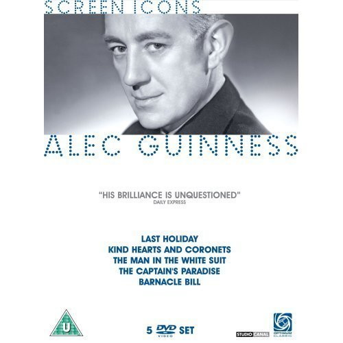 Alec Guinness Collection - 5-DVD Set ( Last Holiday / Kind Hearts and Coronets / The Man in the White Suit / The Captain's Paradise / Barnacle Bill ) [ UK Import ]