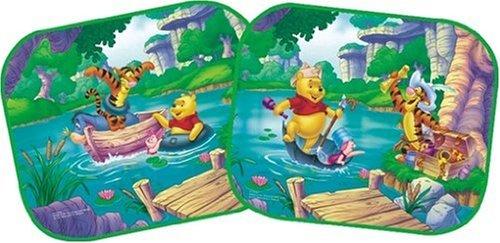 Winnie Pooh WPSAA015 Sonnenschutz, 36x45 cm, Paar