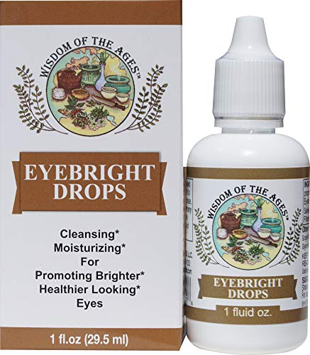 Eyebright Drops Cleansing, Soothing, Moisturizing and Refreshing Natural Formula! 1 fl oz.
