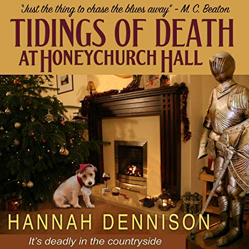 Tidings of Death at Honeychurch Hall audiobook cover art