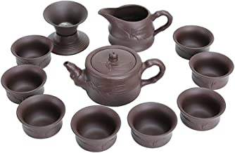 FACAIA Fioletowy bambus herbata coif pokrywka miska na herbatę (kolor: Kapcie garnek pokrywka miska pudełko prezentowe)