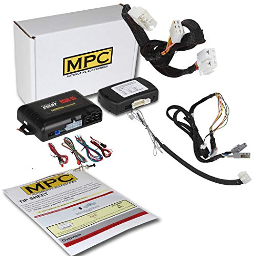 MPC Complete Factory Remote Activated Remote Start Kit for 2012-2015 Honda Civic - Gas ONLY - T-Harness - Firmware Preloaded