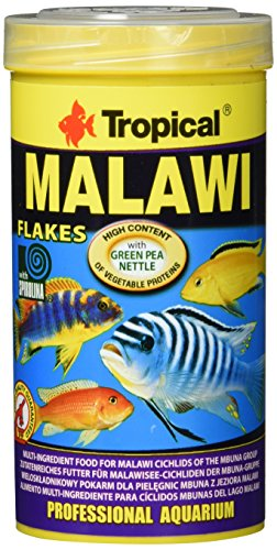 Tropical Malawi Flockenfutter, 1er Pack (1 x 250 ml)