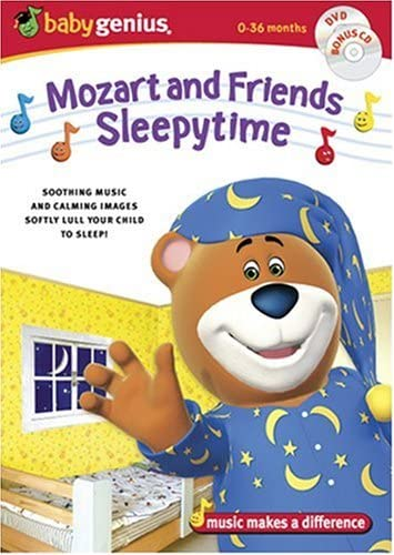 Baby Genius Mozart Sleepytime Friends w bonus Music CD product image