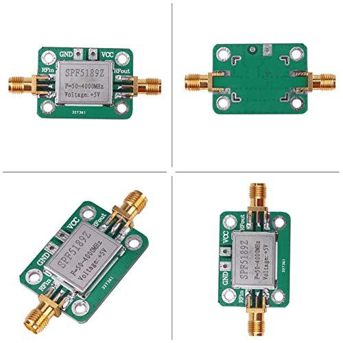 Betaling RF Versterker Signaal Ontvanger 1 PC RF Vermogen Versterker, LNA 50-4000MHz SPF5189 voor FM HF VHF/UHF Ham Radio
