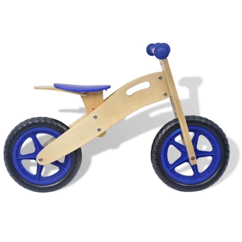Bicicletas Equilibrio para 3 AñOs Madera,Sin Pedal Ligero FormacióN Bicicleta para Caminar con Manillar Y Asiento Ajustables para NiñAs De NiñOs PequeñOs Primer Regalo Azul: Amazon.es: Deportes y aire libre