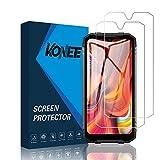 KONEE Protector de Pantalla Compatible con DOOGEE S96 Pro, 【2 Piezas】 Ultra HD [ Dureza 9H, Alta Definición, Anti-Burbuja, Anti-Scratch ], Cristal Vidrio Templado para DOOGEE S96 Pro