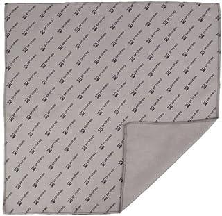Pro Tec MF1212 12 X 12 Inches Microfiber Polishing Cloth Gray/Black