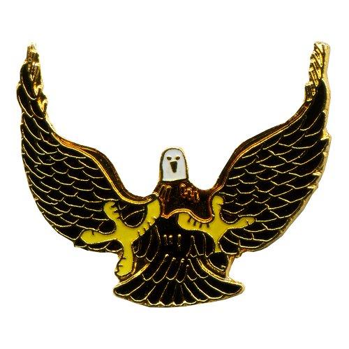Adler Eagle Greifvogel Badge Metall Button Nadel Pin Anstecker 0665