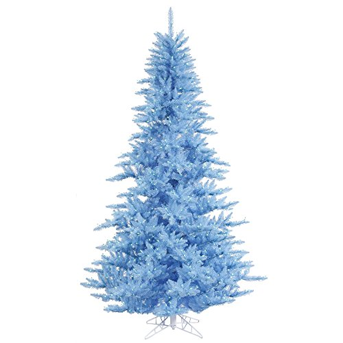 Vickerman 9ft. Sky Blue Artificial Christmas Tree with 1000 Lights