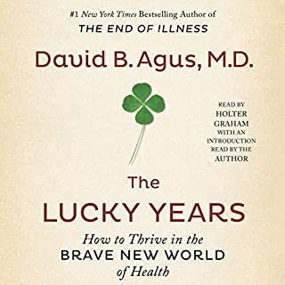 The Lucky Years audiobook cover art