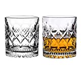 SNGU Transparent Stemless Wine FKB Glasses Set of 2,Glassware for beverage,Cocktail Liquor,Bourbon, Gin, Vodka, Brandy,Whiskey,Drinking Glass,Great reflection from Home,Party, Restaurants and Bars
