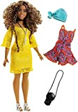 Barbie- Fashionistas Boho Glam con Un Secondo Look Incluso Bambola, Multicolore, FJF70
