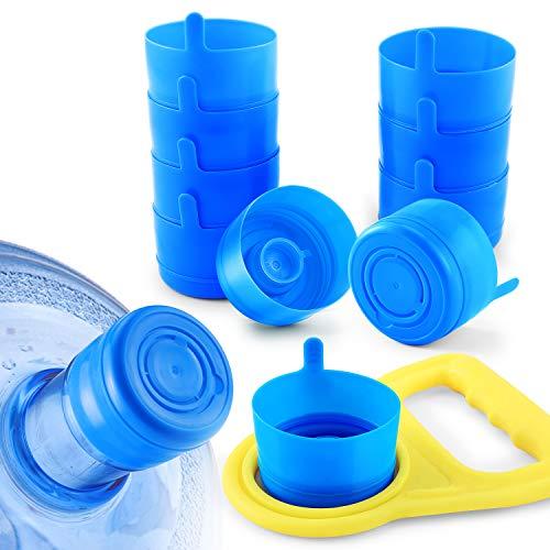 5pc 5.5cm Water Bottle Caps Gallon Screw On Cap Reusable Lid Drinking Non Spill