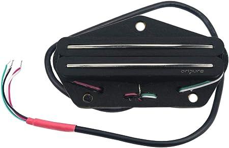 OriPure アルニコ5ギターピックアップデュアルレールテレブリッジピックアップハムバッカー