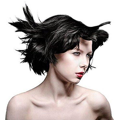 Manic Panic Classic Coloration Pour Cheveux Semi-Permanente 118ml (Noir Corbeau)