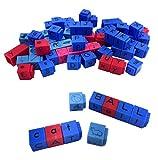 ETA Hand2mente - Cubitos de letras para el alfabeto y la fónica (juego de 82)