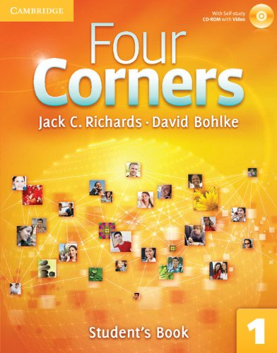 Four Corners, Level 1: Student's (Book & CD) (Four Corners Level 1 Full Contact with Self-study...