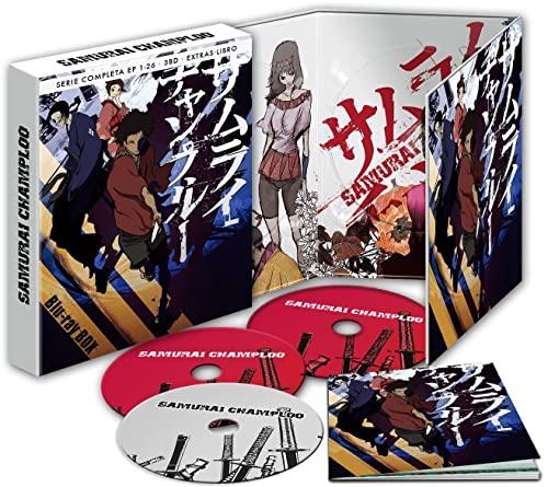 Samurai Champloo Blu-Ray Edición Coleccionista [Blu-ray]