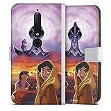 Étui Compatible avec Nokia 6.1 Étui Folio Étui magnétique Aladdin Disney Produit sous Licence...