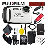 Fujifilm FinePix XP130 Waterproof Digital Camera 600019827 (White) Large...
