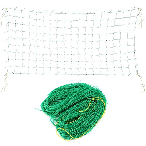 Jeffergarden Pflanzen Spalier Klettergerüst Net,Ranknetz mit großer Maschenweite für Gartengemüsepflanze Spalier Net Klettergerüst Obstbaum Anti Pest Netting(1.8 * 3.6m)