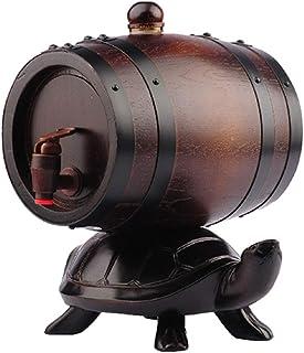 Vinification Barils De Whisky Bouteille De Sauce Piquante Distributeur De Rhum Baril Salon Vin Rouge (Color : Brown-B, Siz...