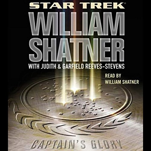 Star Trek: Captain's Glory (Adapted) audiobook cover art