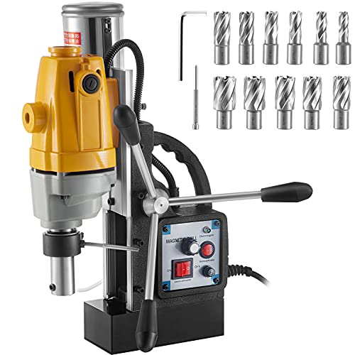 VEVOR Mag Drill, 550RPM No-load Speed Electromagnetic Drill Press, 2.16