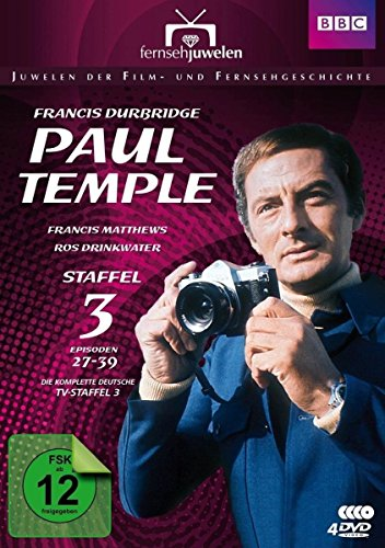 Francis Durbridge: Paul Temple - Staffel 3 - Die komplette ZDF-Fernseh-Saison 3 (Folgen 27-39) - Fernsehjuwelen [4 DVDs]
