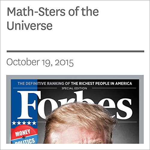 Math-Sters of the Universe  audiobook cover art