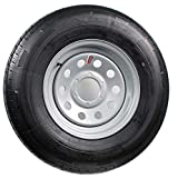 16' Silver Mod Trailer Wheel 6 Lug with Radial ST235/80R16 Tire Mounted (6x5.5) bolt circle