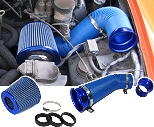 Carparts-Online 19590 Cold Air Performance Kit mit Sport Luftfilter Set blau