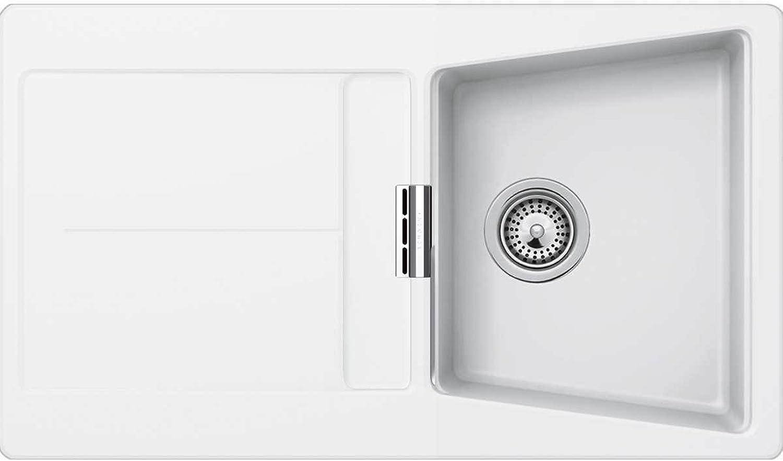 Schock Küchenspüle Opus D-100, Auflage in Polaris