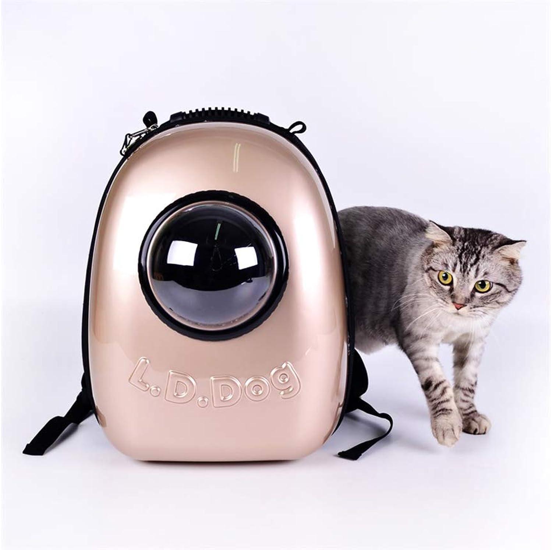 FJH pink gold Cat Bag Pet Out Bag Portable Bag Shoulder Dog Backpack Space Bag Cat Outer Space Warehouse