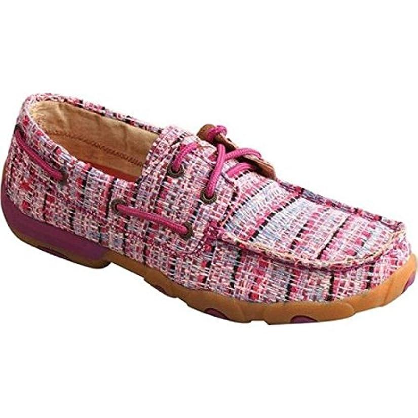 出発死の顎主(ツイステッド エックス ブーツ) Twisted X Boots レディース シューズ?靴 スリッポン?フラット WDM0087 Driving Moc [並行輸入品]