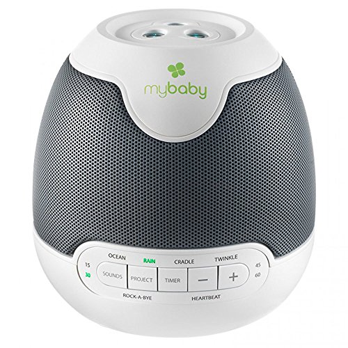 Homedics My Baby SoundSpa Lullaby Projector for Baby/Infant Sleep Sound w/Timer