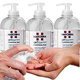 CUBEX PROFESSIONAL AMUCHINA gel igienizzante mani 500 ml disinfettante 3PZ