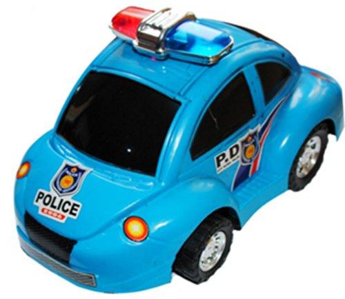 GRANDE VOITURE DE POLICE A FRICTION 20 X 12 X 9 CM JOUET