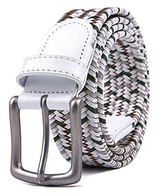 Womens Belts, Mens Belts (XL, 2 White)