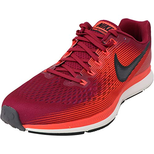 Nike Air Zoom Pegasus 34, Scarpe da Atletica Leggera Uomo, Multicolore (Rush Maroon/Black/Bright Crimson/Phantom 000), 42 EU