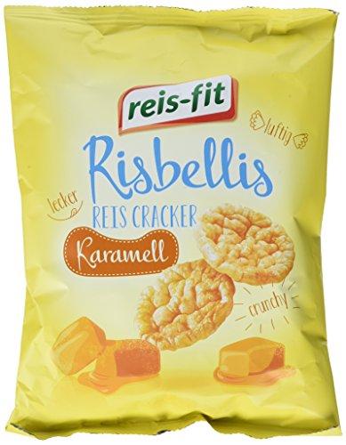 reis-fit Risbellis Reis Cracker Karamell , 40 g