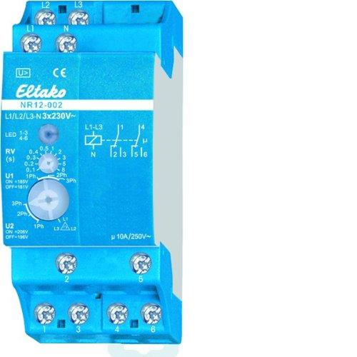 Eltako NR12-002-3X230V Netzüberwachungsrelais mit Drehfeldüberwachung