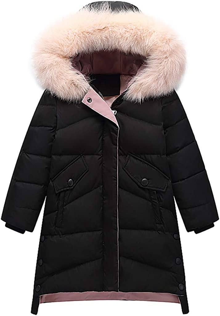 TOTAMALA San Diego Mall Courier shipping free Winter Down Jacket Kids Girls Dow Hooded Parka Fur Faux