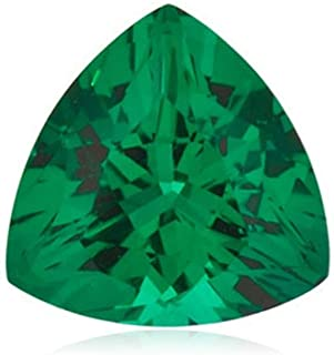 Instagem Lab Created Emerald Trillion Shape AAA Quality from 3x3MM-8x8MM