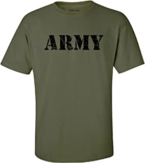 Vintage Army Logo T-Shirts, Regular Big and Tall Sizes