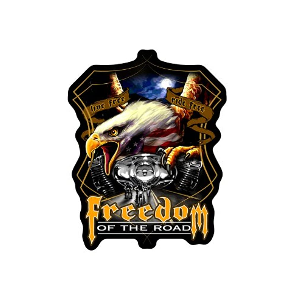 Hot Leathers Midnight Eagle Biker Patch (9