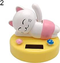 Fashion Toys Kukakoo Super Soft Plush Doll Stuffed Animal Toy丨Cute Cartoon Animal Solar Power Swinging Doll Car Interior Ornament Decor Gift - 2#丨Sleeping Kawaii Pillow,Gift for Kids/Couples/Friends